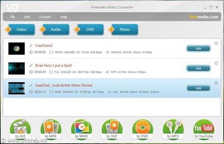 البرنامج العملاق لتحويل الفيديو Freemake